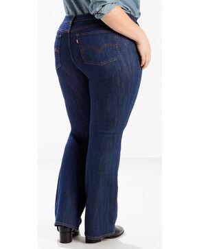 Levi's Women's 415 Classic Boot Cut Storm Rider Jeans - Plus Size, Indigo, hi-res