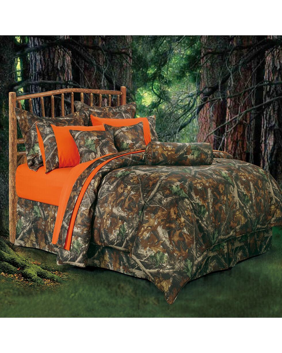 HiEnd Accents Realtree Camo Full Size Comforter Set, Multi, hi-res