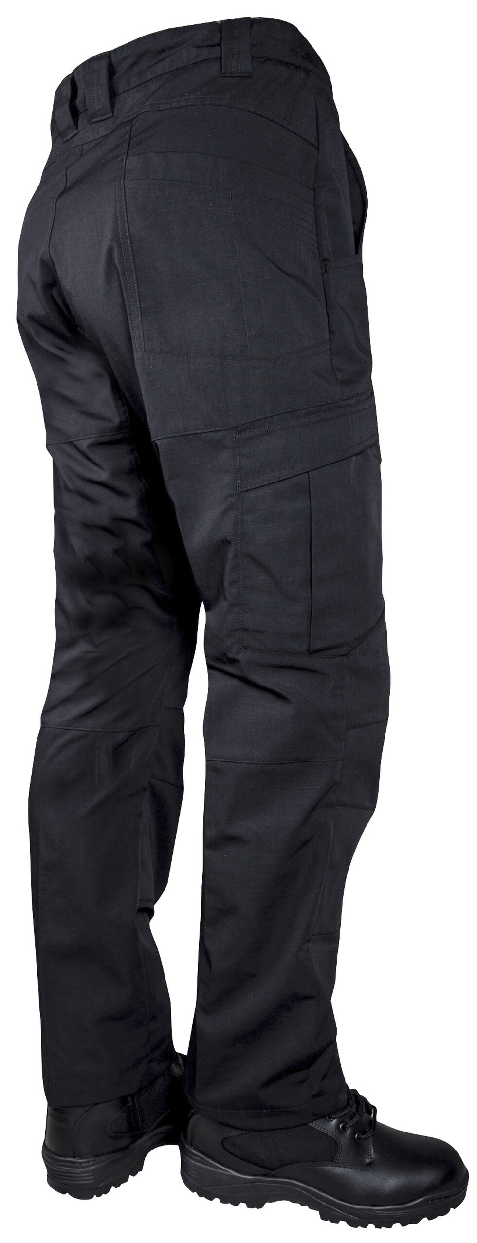 Tru-Spec Men's 24-7 Black Vector Pants , Black, hi-res