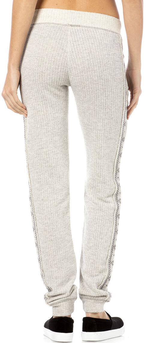 Miss Me Grey Embroidered Sweatpants, Hthr Grey, hi-res