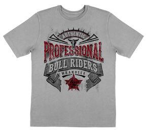 Wrangler Boys' PBR Short Sleeve T-Shirt, Grey, hi-res