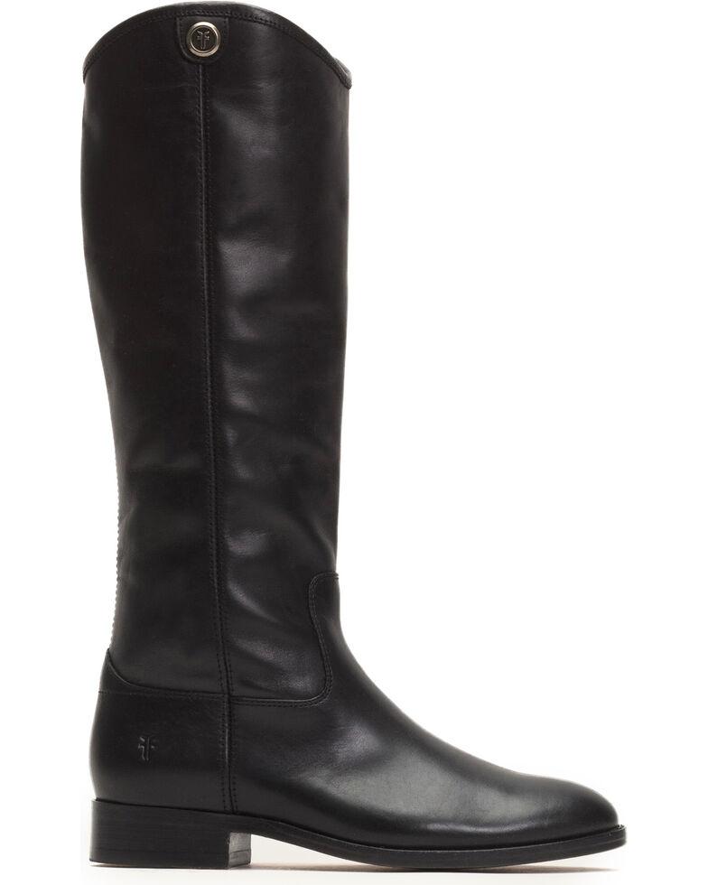 70fc8a5d153 Frye Women s Black Melissa Button 2 Tall Boots - Round Toe