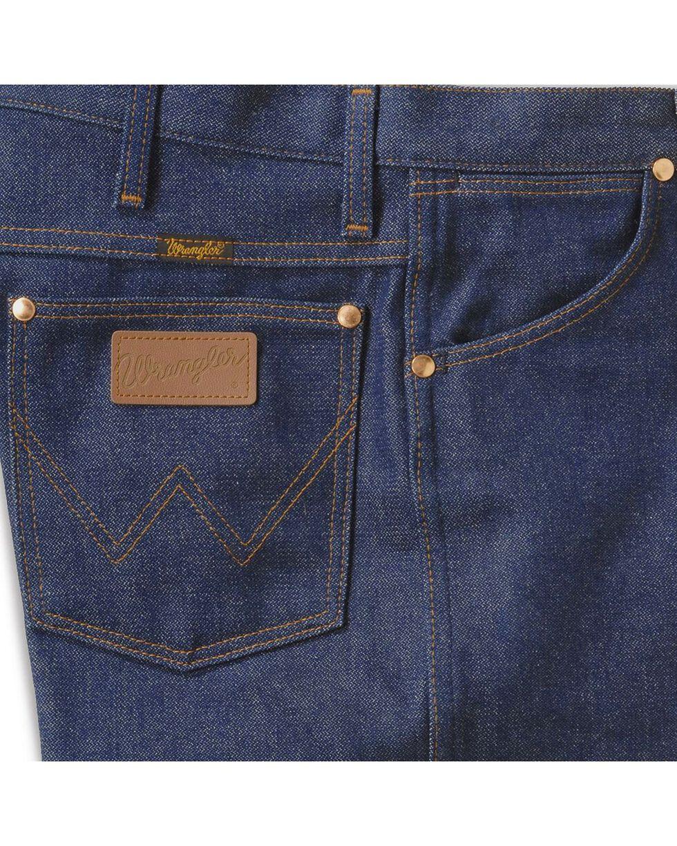 """Wrangler 13MWZ Cowboy Cut Rigid Original Fit Jeans - 38"""" & 40"""" Tall Inseams, Indigo, hi-res"""