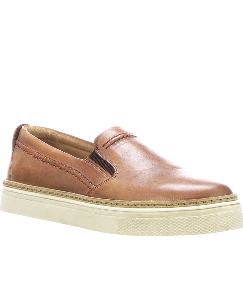 Lucchese Women's Brown After-Ride Shoes, Brown, hi-res