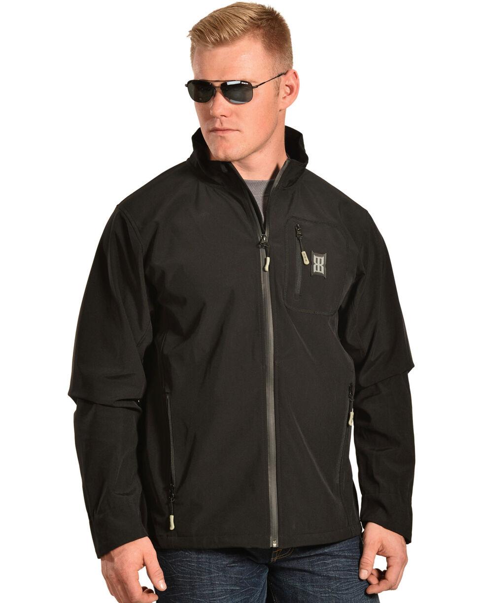 Bex Men's Black Starc Softshell Lightweight Jacket , Black, hi-res