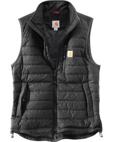 Carhartt Men's Gilliam Vest - Big and Tall , Black, hi-res