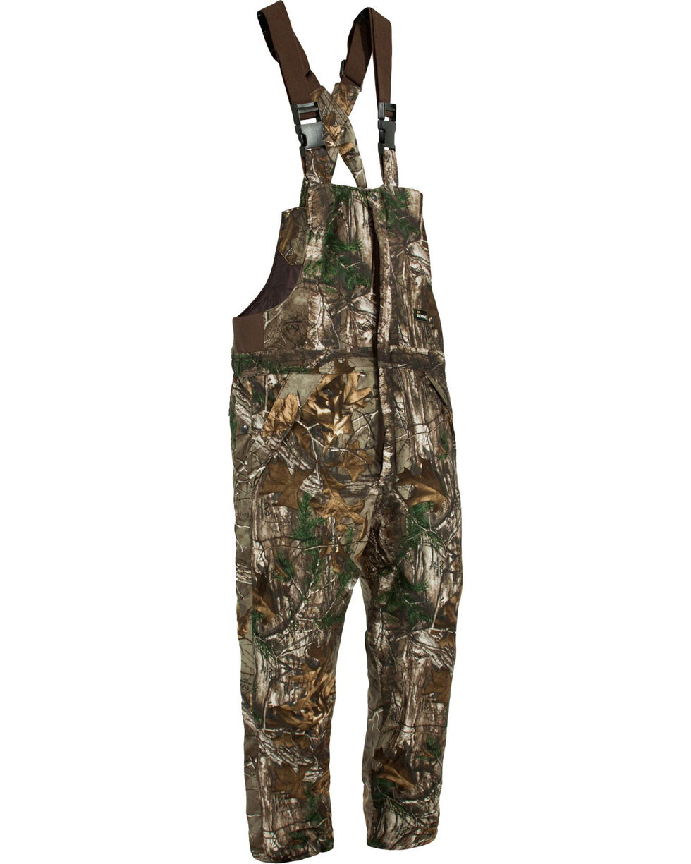 Berne Men's Camo Blizzard Bib Overalls, Camouflage, hi-res