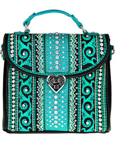 b71dfc87f1b Montana West Womens Bling Bling Collection Tote/Crossbody Bag, Black, hi-res