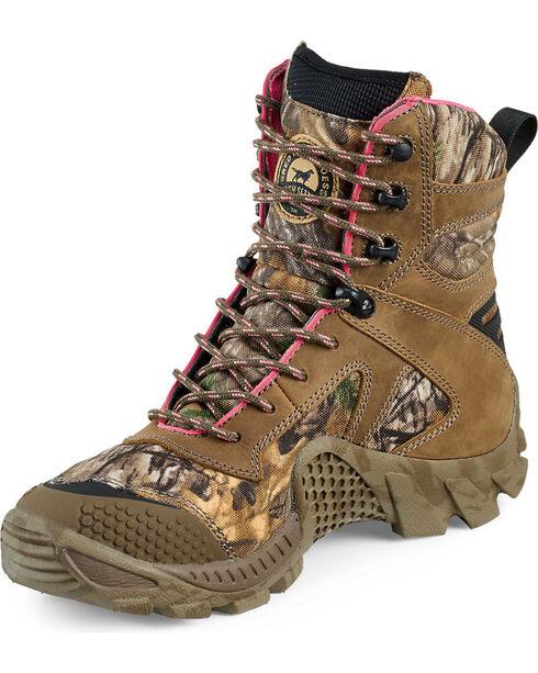 Red Wing Irish Setter Women's Vaprtrek Realtree Xtra Waterproof Boots , Camouflage, hi-res