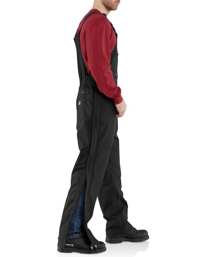 Carhartt Shoreline Bib Overalls - Big & Tall, Black, hi-res