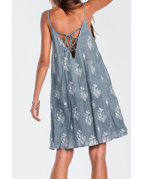 Miss Me Women's Grey Sleeveless Dress, Grey, hi-res
