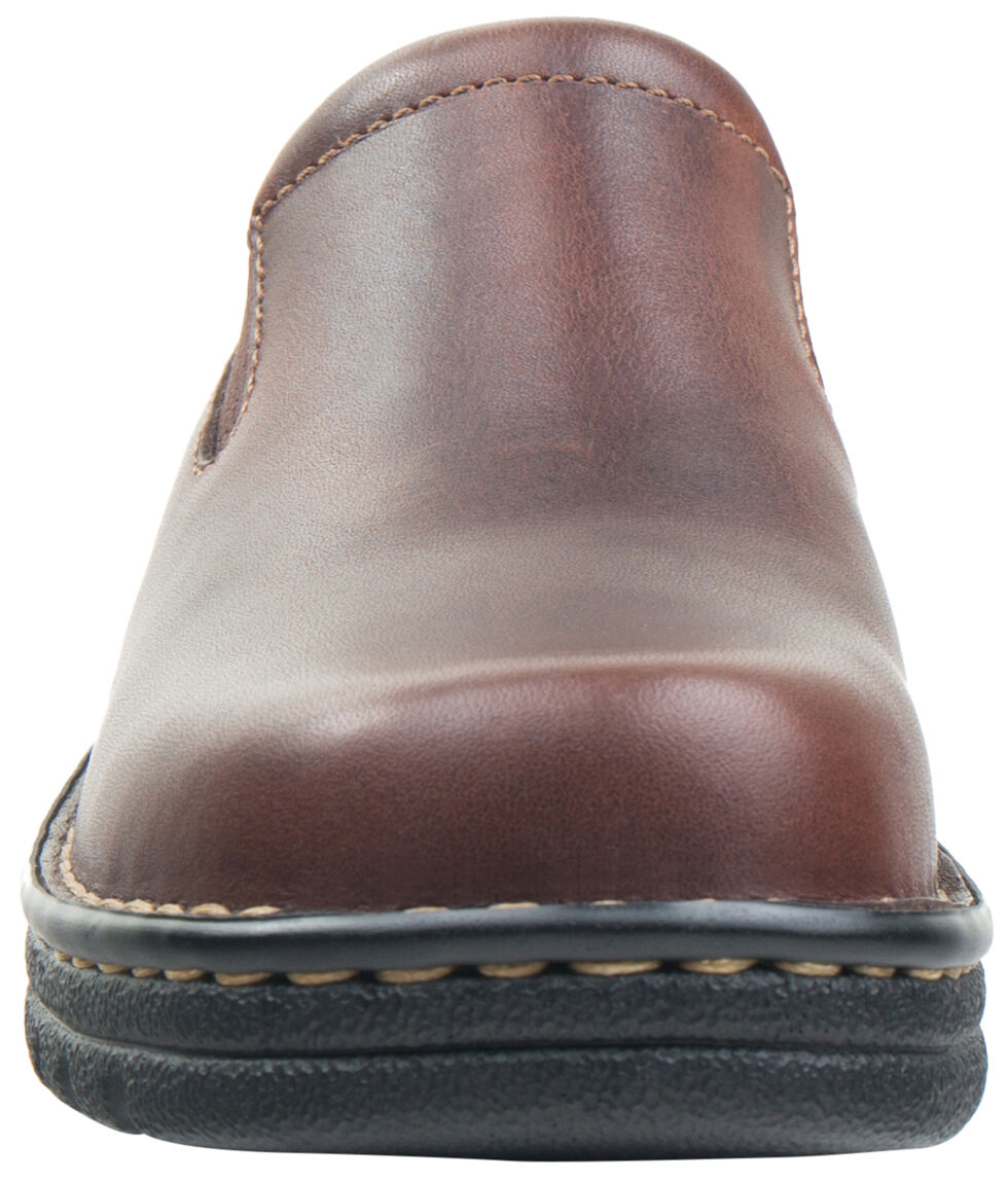 Eastland Women's Brown Newport Slip-Ons , , hi-res