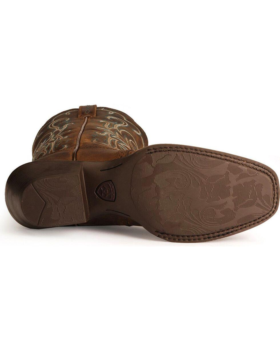 Ariat Saddle Vamp Legend Riding Cowgirl Boots - Square Toe, , hi-res