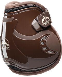 Veredus Pro Jump Short Vento Velcro Boots, Brown, hi-res