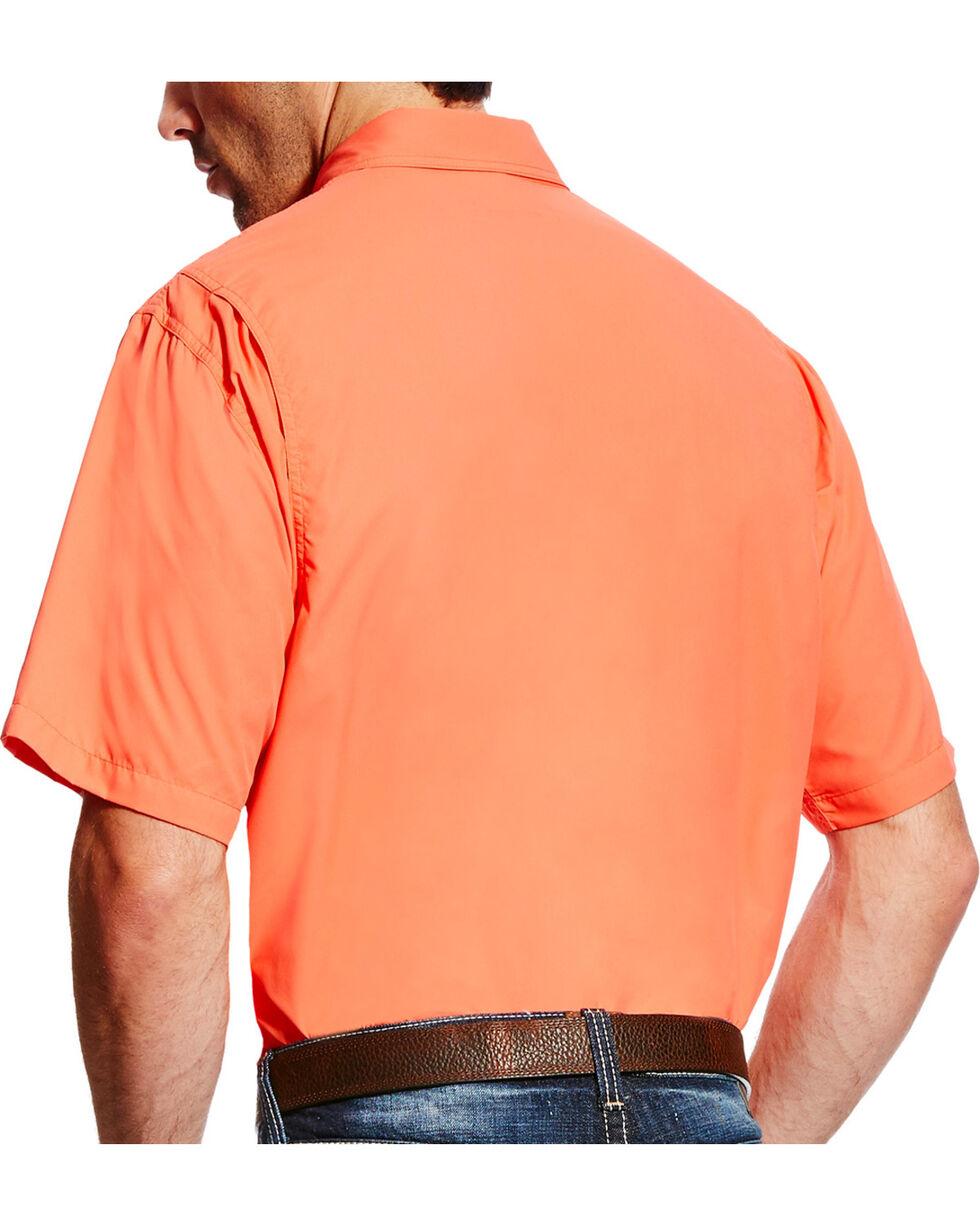 Ariat Men's Coral VentTEK II Shirt , Coral, hi-res