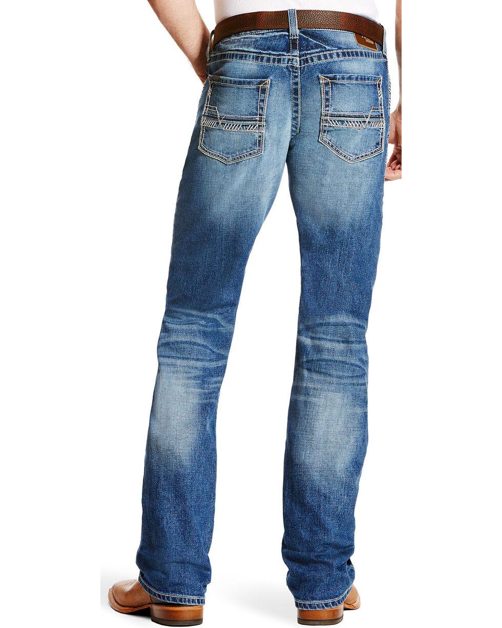 Ariat Men's M5 Stillwell Slim Low Rise Jeans - Straight Leg, Indigo, hi-res