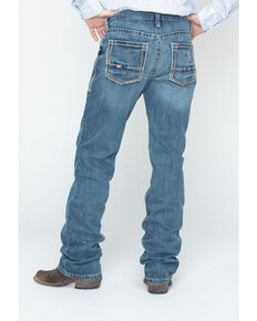 Ariat Men's M5 Gulch Straight Leg Jeans , Med Wash, hi-res