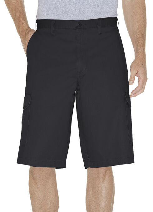 "Dickies 13"" Loose Fit Cargo Shorts, Black, hi-res"