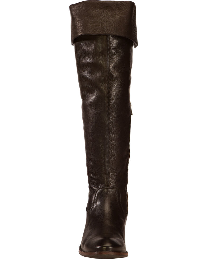 Frye Women's Shirley Over The Knee Riding Boots - Round Toe, Black, hi-res