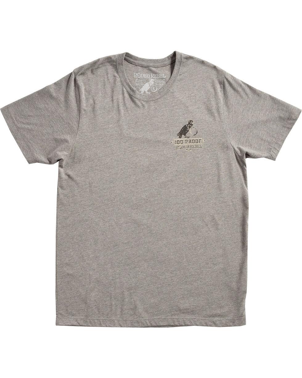 Rodeo Rebel Men's Bootleggers Distillery Graphic T-Shirt, Heather Grey, hi-res