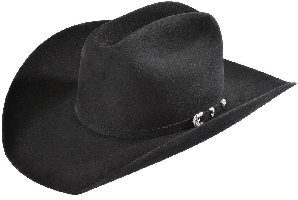 ef906459f388e Justin 8X Fur Felt Mustang Cowboy Hat