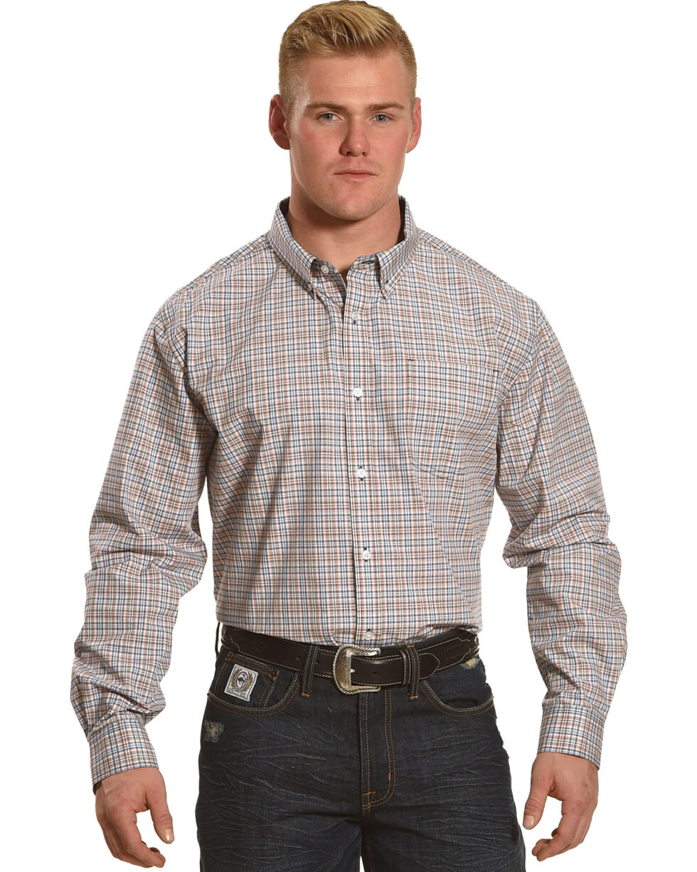 Cody James Men's Plano Plaid Long Sleeve Shirt, , hi-res