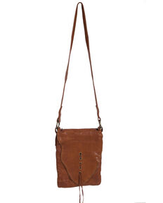 Scully Women's Soft Leather Crossbody Handbag, Tan, hi-res