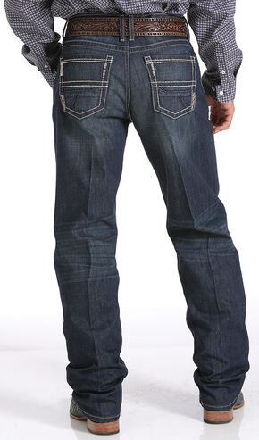 Cinch Men's Sawyer Loose Fit Jeans - Boot Cut , Denim, hi-res
