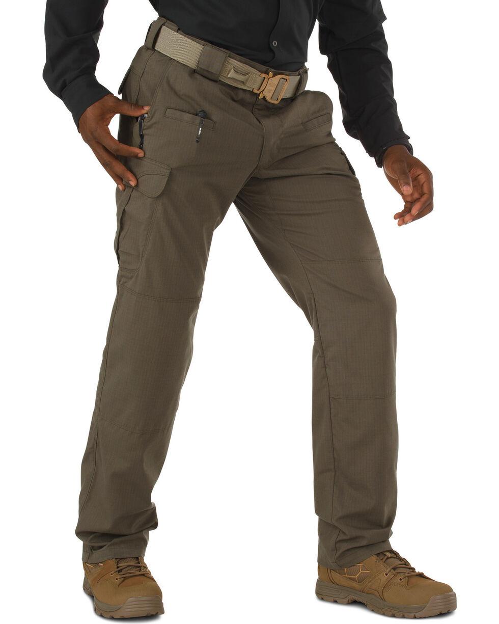 5.11 Tactical Stryke Pants - Unhemmed - Big Sizes (46 - 54), Dark Brown, hi-res