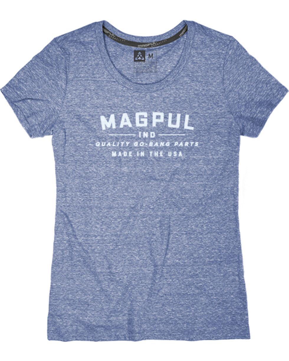Magpul Women's Megablend Women's Crew-Neck Go Bang T-Shirt , Navy, hi-res