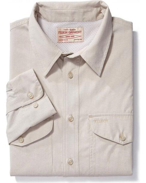 Filson Men's Twin Lakes Sport Shirt, Sand, hi-res