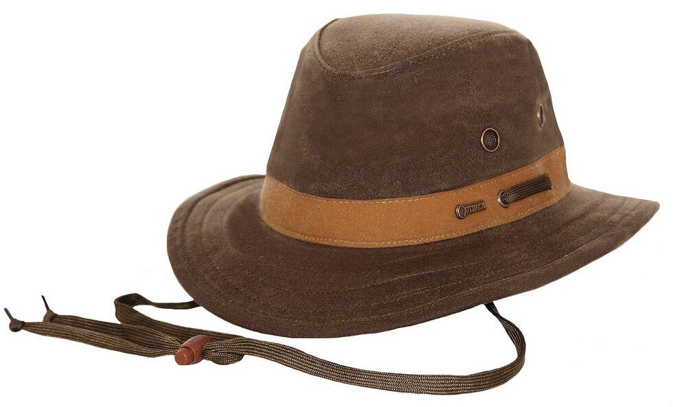 Outback Trading Co. Oilskin Willis Hat, Sage, hi-res
