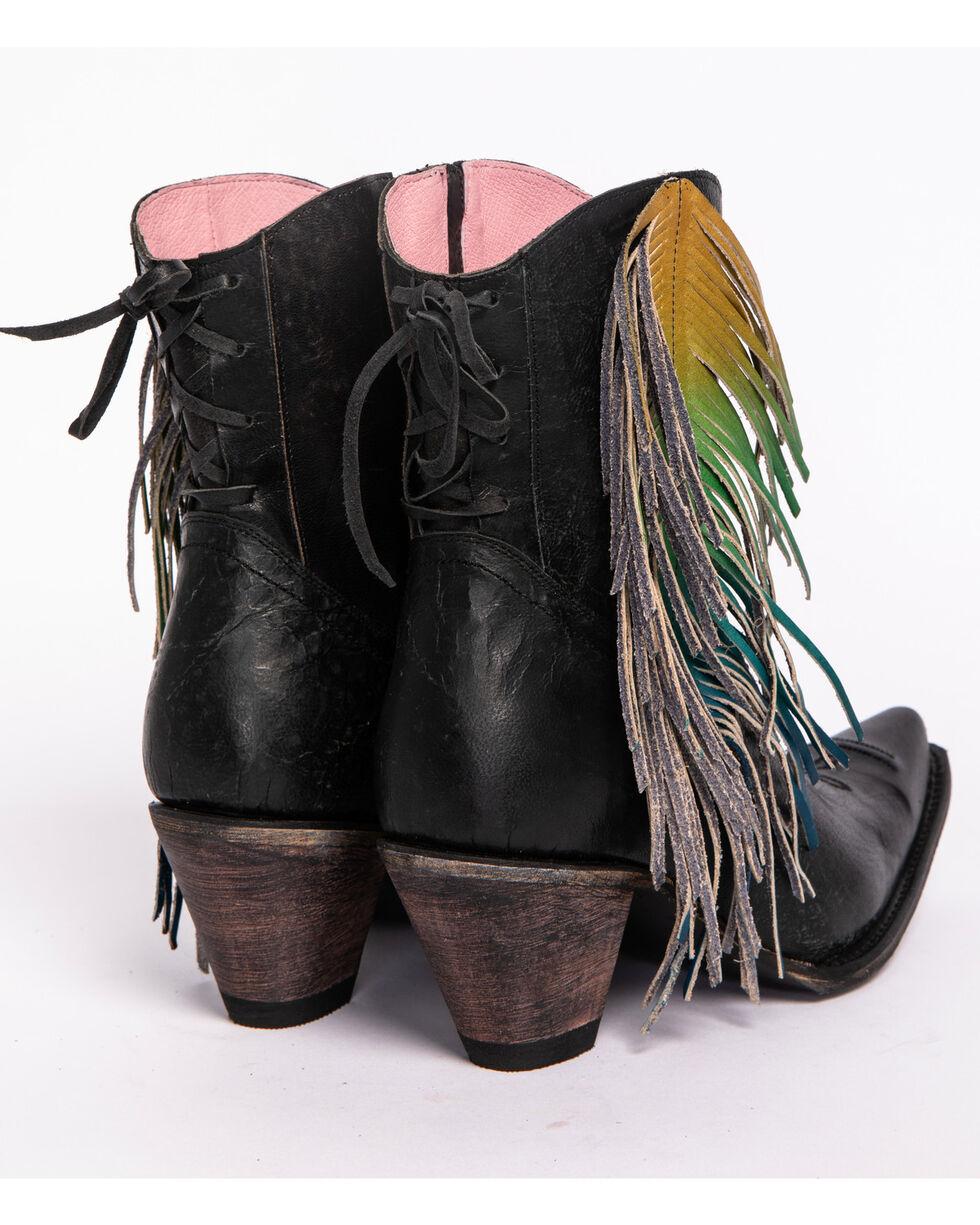 Junk Gypsy by Lane Women's Spirit Animal Boots - Snip Toe , Black, hi-res
