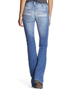 Ariat Women's Indigo Real Amalia Jeans - Boot Cut , Indigo, hi-res