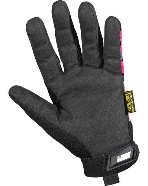 Mechanix Wear Women's Pink Camouflage Original Gloves, Multi, hi-res