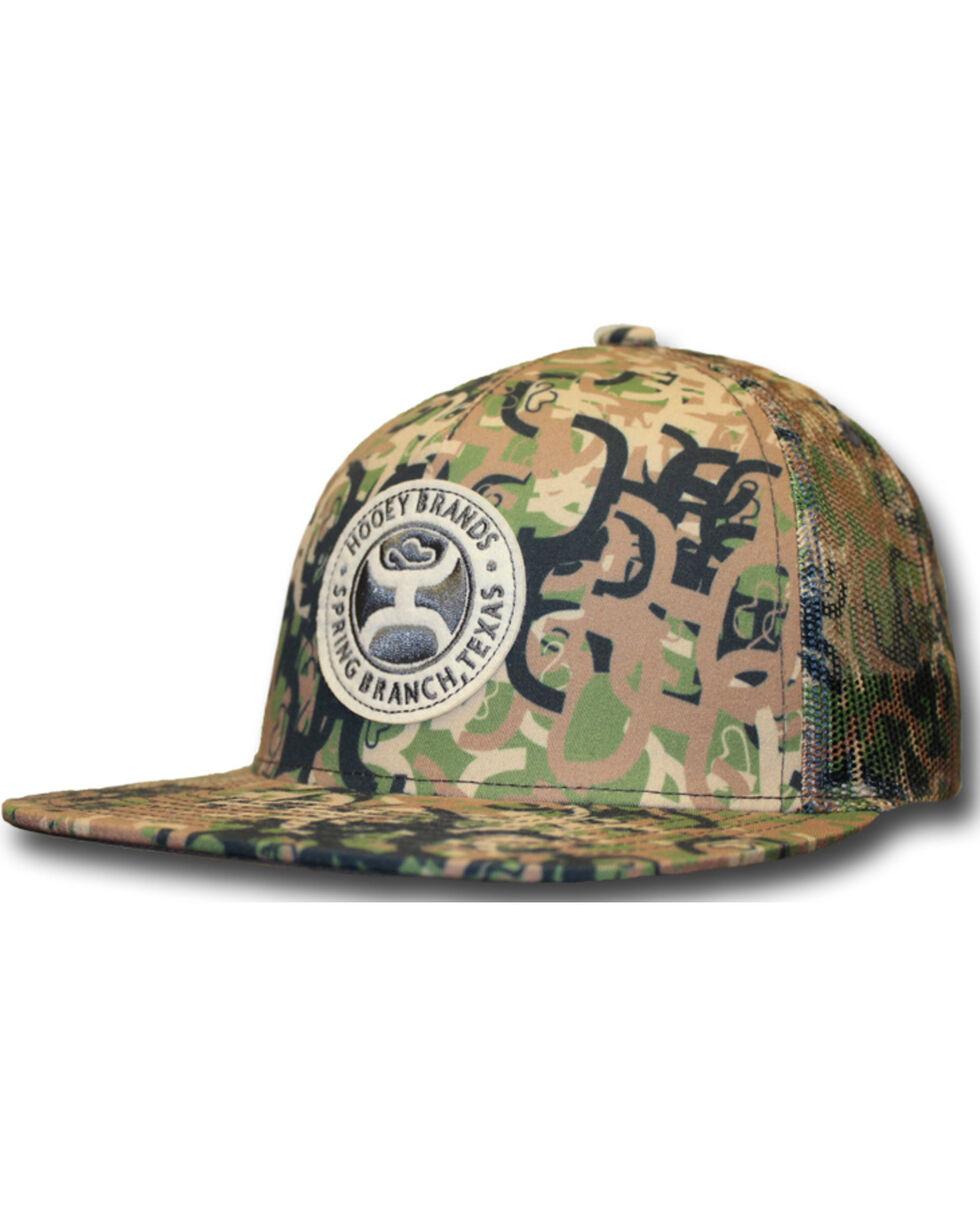 Hooey Men's Ziggy Snapback Mesh Camo Trucker Cap, Camouflage, hi-res