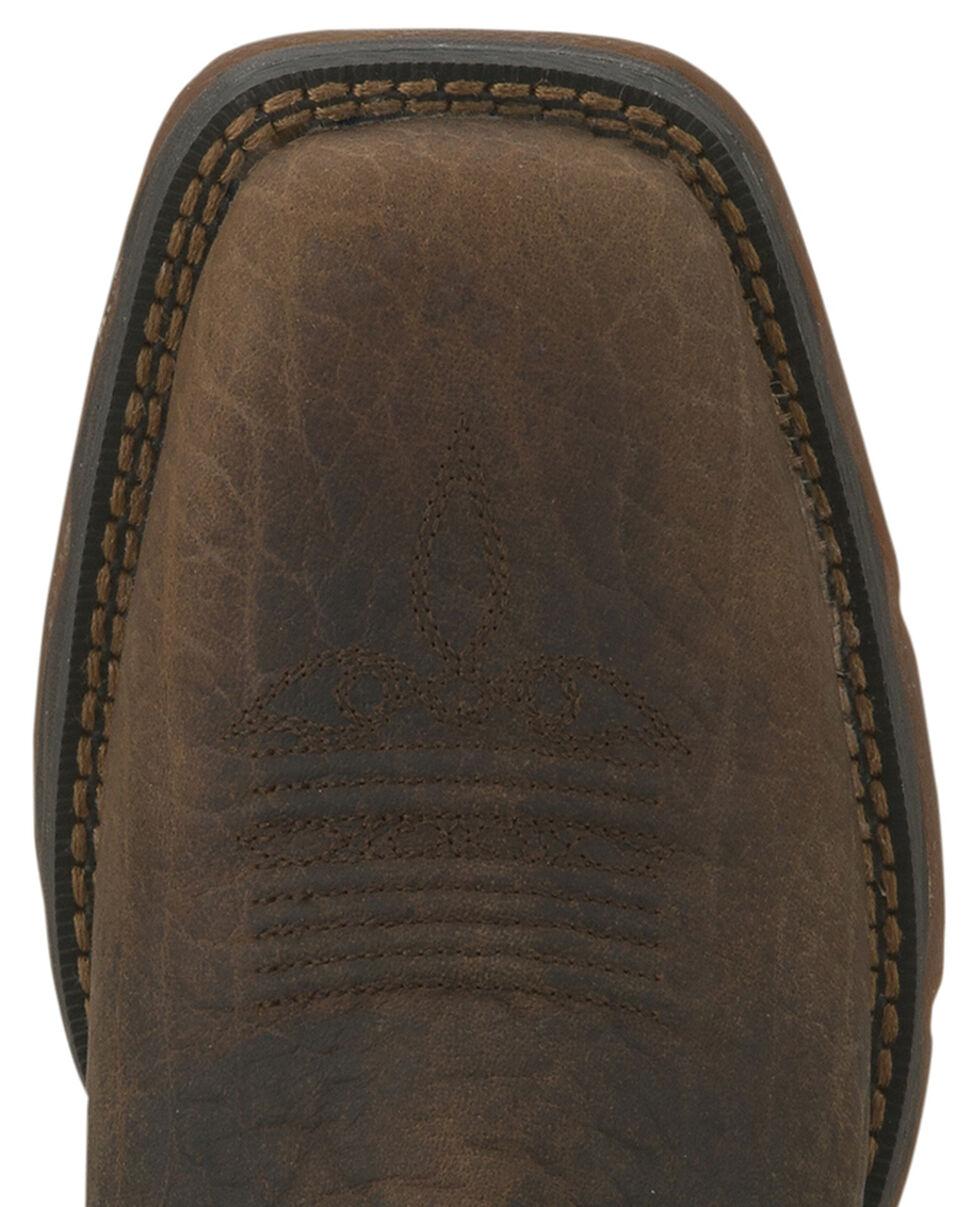 Durango Women's Lady Rebel Cowgirl Boots - Steel Toe, Brown, hi-res