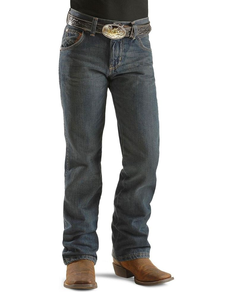 Wrangler Boys' Retro Night Sky Jeans - 4-7, Blue, hi-res