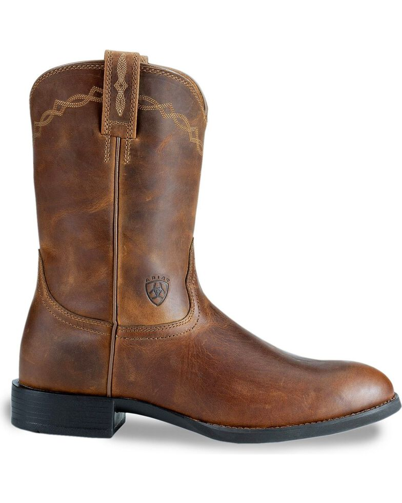 Ariat Heritage Roper Cowboy Boots, Distressed, hi-res