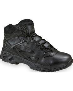 Thorogood Men's Mid-Cut ASR Uniform Boots , Black, hi-res