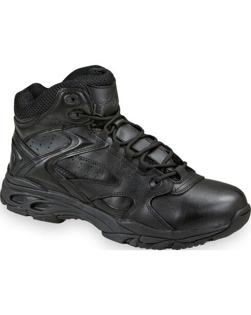 Thorogood Men's Mid-Cut ASR Ultra Light Tactical Shoes, Black, hi-res