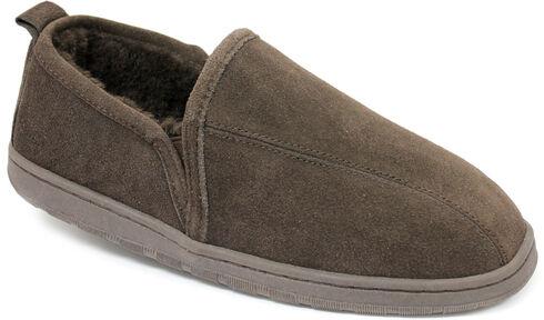 Lamo Footwear Men's Classic Romeo Slippers, Chocolate, hi-res