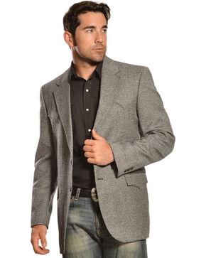 Circle S Plano Sport Coat - Big & Tall, Dark Grey, hi-res