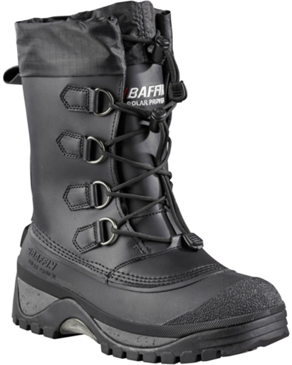 Baffin Men's Muskox Cold Weather Boots, Black, hi-res