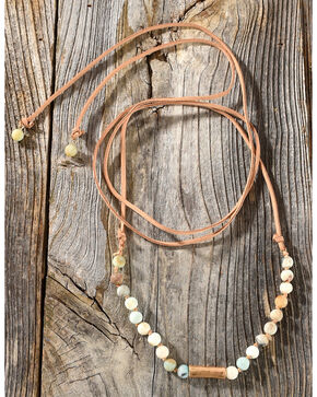 Shyanne Women's Wraparound Beaded Necklace , Multi, hi-res