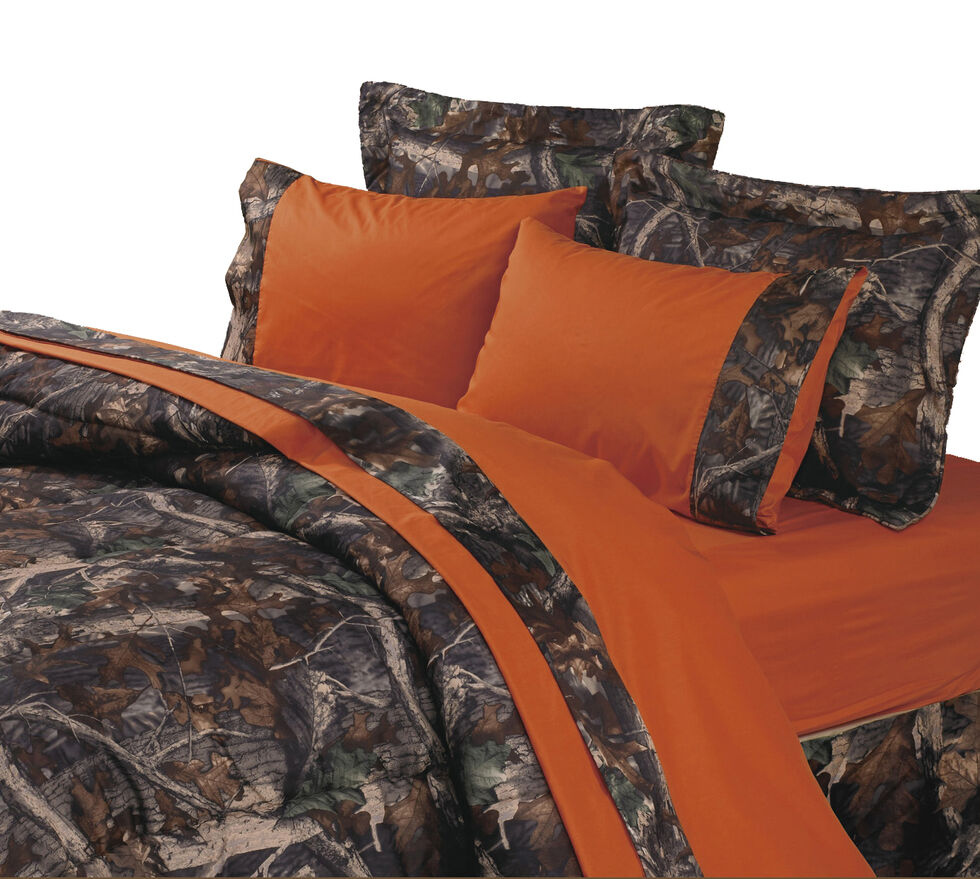 HiEnd Accents Realtree Camouflage Sheet Set - Full, Multi, hi-res