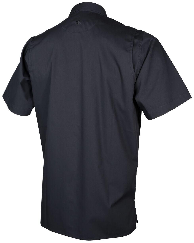 Tru-Spec Men's Black Pinnacle Short Sleeve Shirt , Black, hi-res