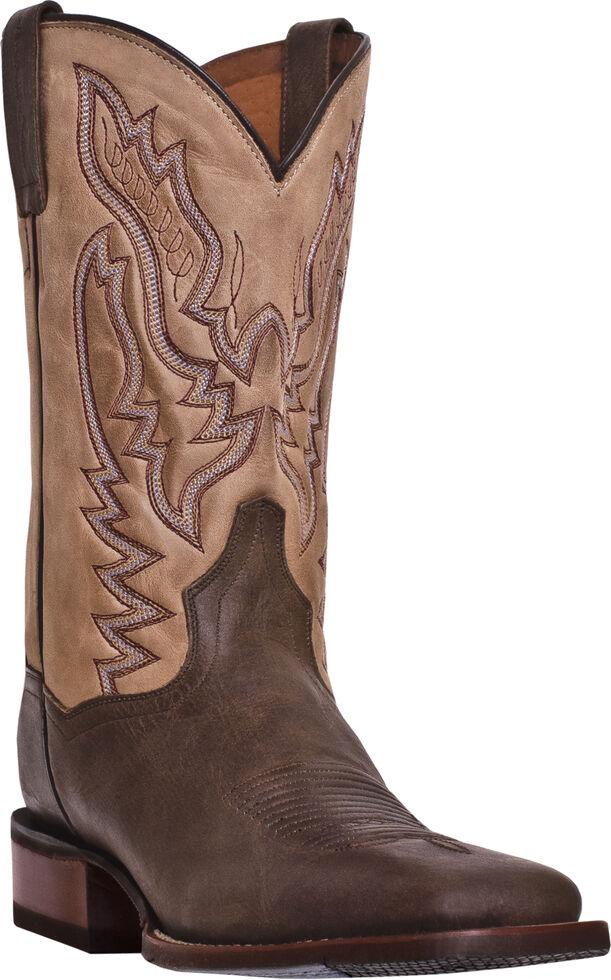 Dan Post Matheson Cowboy Certified - Wide Square Toe, Chocolate, hi-res