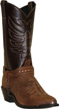 Sage by Abilene Boots Men's Scorpion Harness Boots, Brown, hi-res