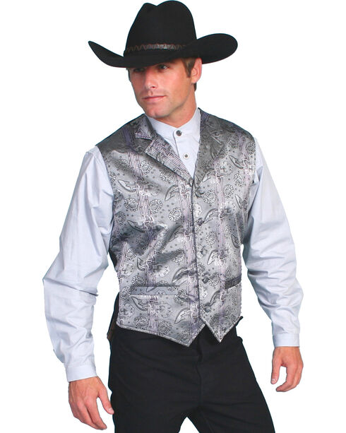 Rangewear by Scully Claymont Vest, Grey, hi-res